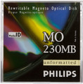 Philips 230MB Magneto-Optical Cartridge