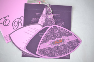 Jumping the broom invitation