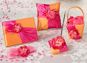 Hot Pink & Orange Wedding Prepack Set