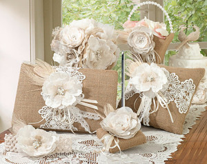 Burlap and Lace Prepack Set