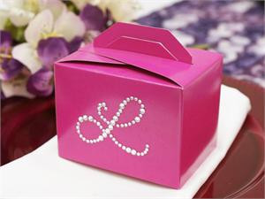 100 Personalized Diamond Letters Tote Box