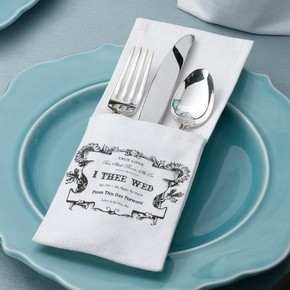 True Love Silverware Holder -Set of 4