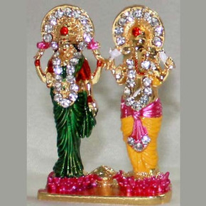 Indian Gift Favors (Lakshmi Ganesh - Small)