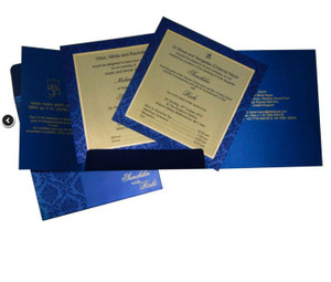 Wedding Invitation - 1214 (Set of 25)