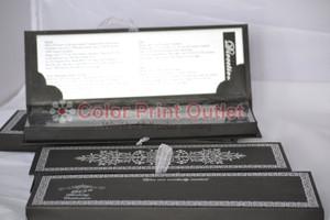Elegant birthday Scroll Invitation In Box -  (Set of 25), Royal theme invitation, Elegant scroll invitation