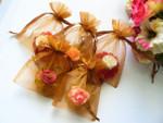 Handmade floral Soap Favor - SF03 Set of (10) - Sweet sixteen soap favor, Bridal shower soap favor, Wedding, Birthday soap favor