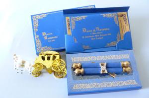 Castle wedding invitation, Royal wedding (Set of 25) - MSBT - 012 (MSBT - 012)