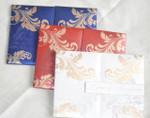 Luxury premium grade metallic finish invitation Folio Invitation - LYNN01- Other colors