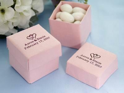 Personalized Pink Box