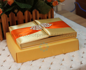 Silk Folio Invitation ---T252-YL