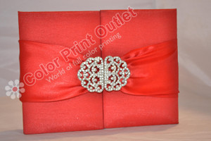 Satin Box Invitation --- DSC-94