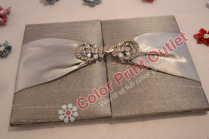 Satin/Silk Folio Invitation --- DSC-103