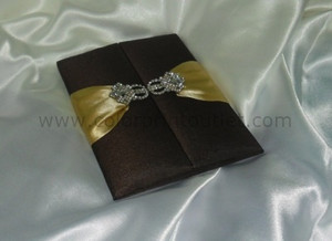 Satin/Silk Folio Invitation --- DSC--107