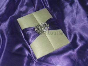 Satin/Silk Folio Invitation --- DSC--109
