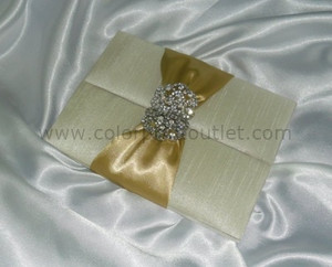 Satin/Silk Folio Invitation --- DSC--111