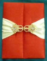 Satin/Silk Folio Invitation --- DSC--118