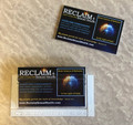 RECLAiM Business Card Holder with 50 RECLAiM Confession Cards
