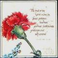 The Fruit of the Spirit is Love - Prayer Card