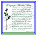Prayer Card - Troubled Times - 1 card - ENGLISH