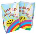 Smile! Jesus Loves You Paper Bag