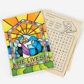 He Lives Activity Pad