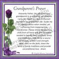 Prayer Card - Grandparent  ENGLISH (1 card)