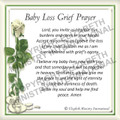 Prayer Card - Baby Loss ENGLISH (1 card)