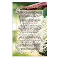 Blessing for a Caregiver - Prayer Card