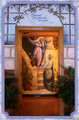 Entry Visitation - Holy Card - (1 single card)