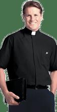 Clergy Shirt, Short Sleeve Full Cut