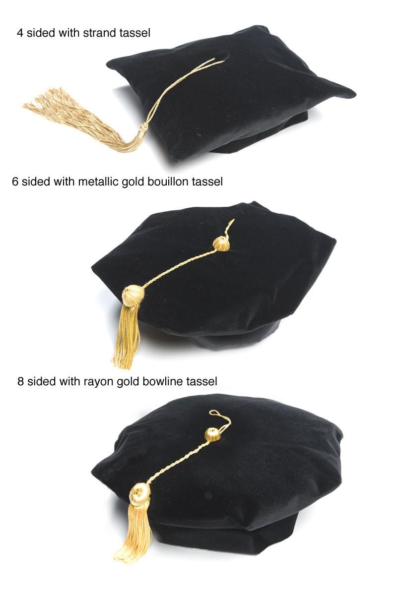 Doctoral Deluxe Cap Artneedle Cap And Gown