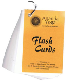Ananda Yoga Flash Cards