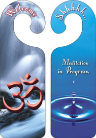 Door Hanger - Om / Water