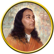 Static Cling Sticker - Paramhansa Yogananda