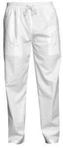 Yogi Pants - White Cotton