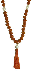Kriya Mala - Rudraksha with Pearl Counters - 6mm