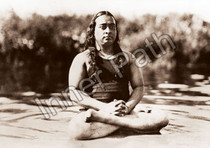 Paramhansa Yogananda Photo - Beach - 5x7 Sepia