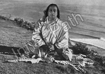 Paramhansa Yogananda Photo - Encinitas Cliffs - 5x7