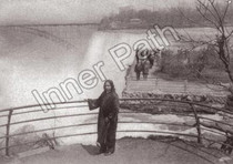 Paramhansa Yogananda Photo - View at Niagara Falls - 5x7