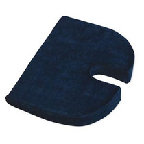 RelaxoBak Covered Comfort Cushion - Dark Blue