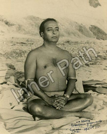 Paramhansa Yogananda - Encinitas Samadhi Photo 5x7 Sepia
