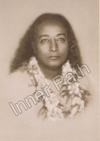 Paramhansa Yogananda Photo - Last Birthday - Sepia 5x7
