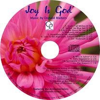 Joy Is God CD