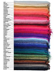 Brushed Woven Shawl