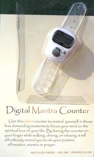 Digital Mantra Counter