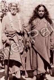 Paramhansa Yogananda Photo - Yogananda and Sri Yukteswar
