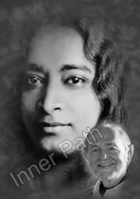 Paramhansa Yogananda Photo - Kriyananda Overlaid - 8x10