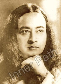 Paramhansa Yogananda Photo - Portrait - Sepia 8x10