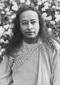 Paramhansa Yogananda Photo - Gazing into Infinity - 8x10