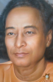 Paramhansa Yogananda Photo - Biltmore Samadhi (Cropped) - Wallet Altar